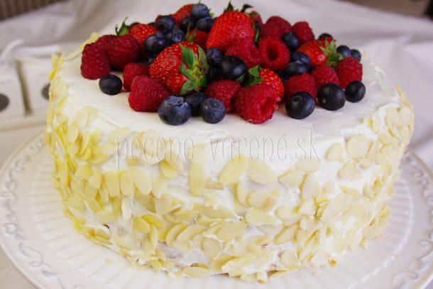 Výsledok vyhľadávania obrázkov pre dopyt Tvarohová torta s mascarpone a ovocím