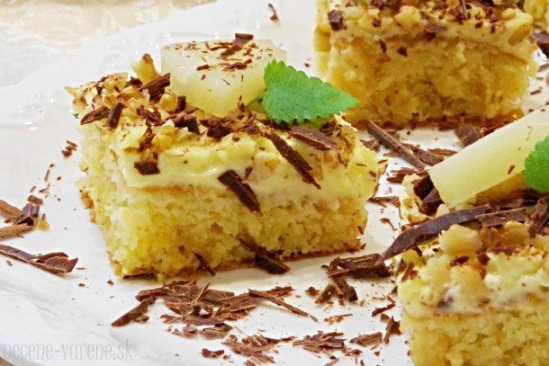 Výsledok vyhľadávania obrázkov pre dopyt Ananásový koláč
